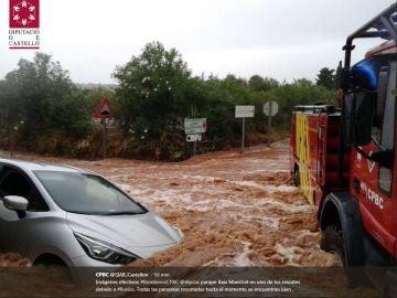 Tormentas en Benicarló, Castellón