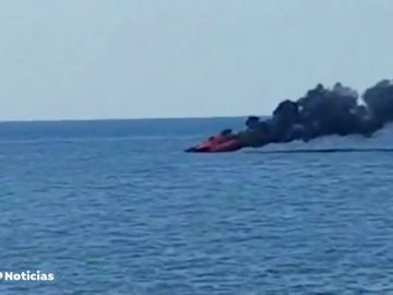 Heridos de gravedad un padre y un hijo tras explotar su barco en Mallorca