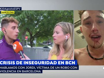 Robo con violencia a un joven en Barcelona