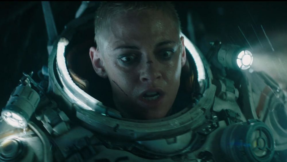 Kristen Stewart en el tráiler de 'Underwater'