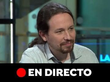 Vídeo de la entrevista a Pablo Iglesias, en directo