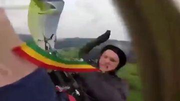 Un paracaidista muere en Rusia