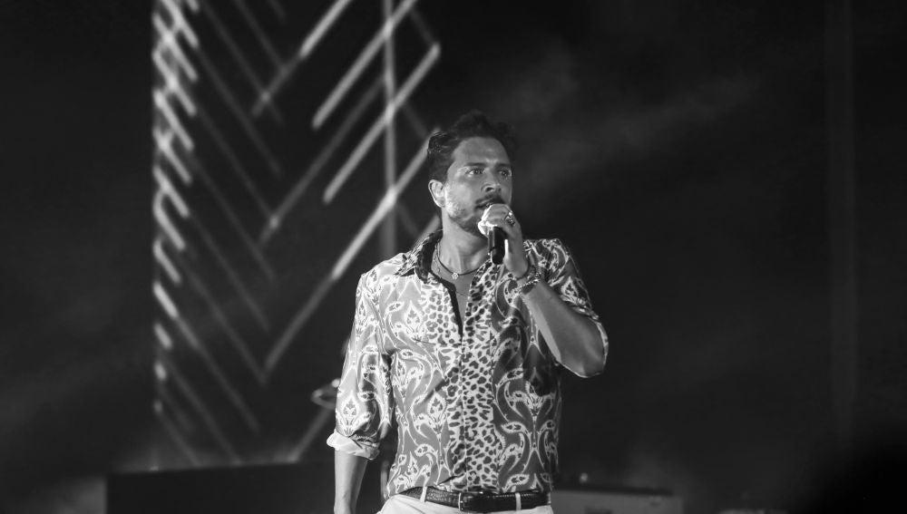 Manuel Carrasco en el Starlite de Marbella