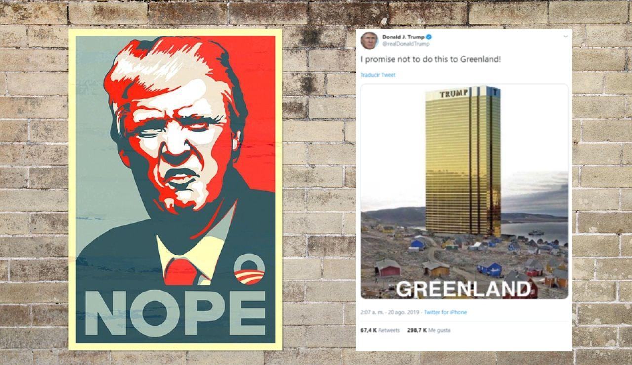 Donald Trump quiere comprar Groenlandía