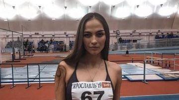 La atleta rusa, Margarita Plavunova