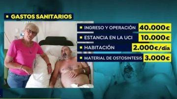 Español hospitalizado en Santo Domingo