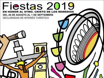 Cartel ganador de las fiestas de San Sebastián de los Reyes 2019