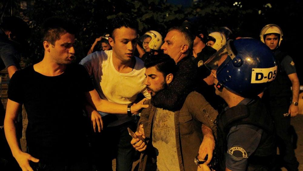 Manifestaciones en Turquía