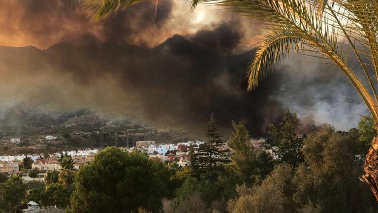 Incendio Marbella: Un Incendio Forestal Obliga A Desalojar