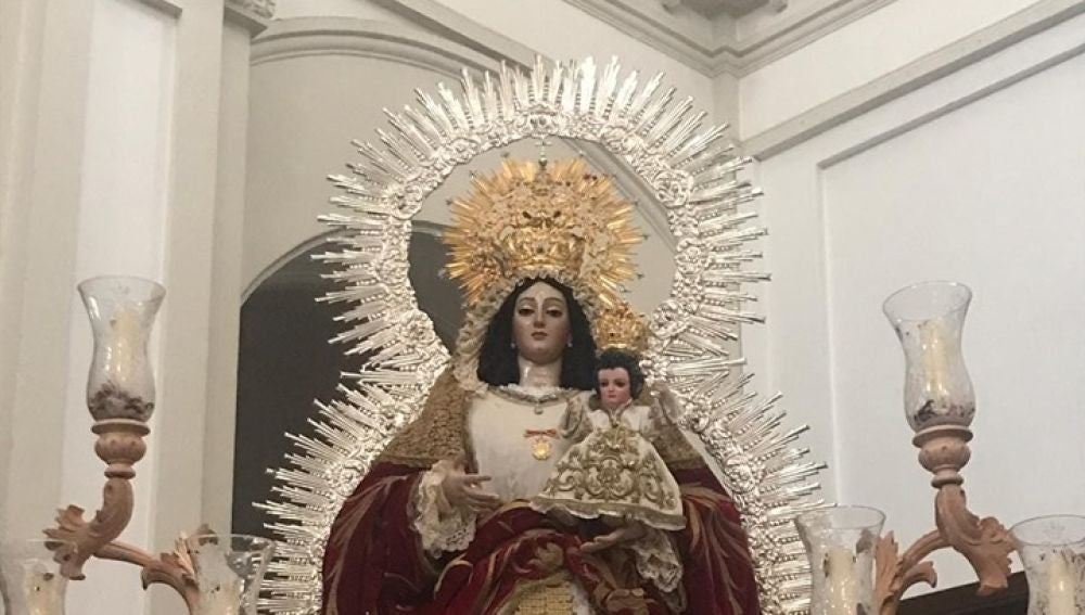Virgen del Socorro, Huelva