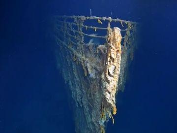 Fotografían los restos del Titánic por primera vez en catorce años