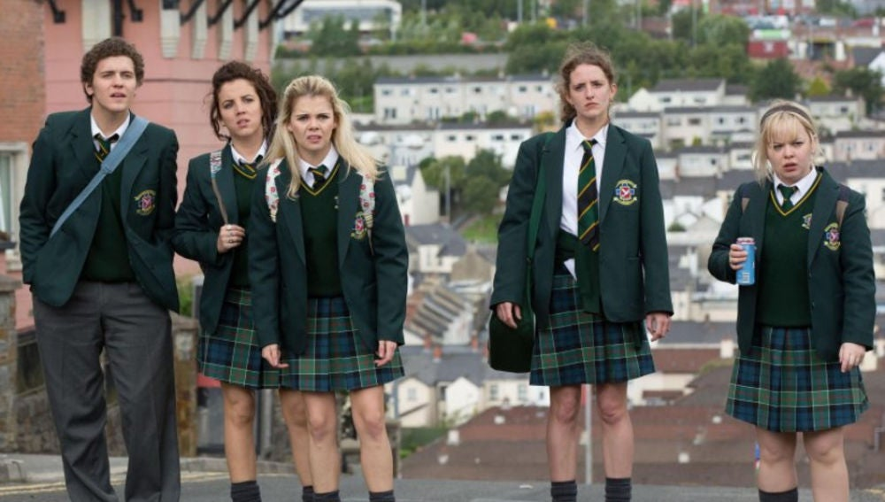 Protagonistas de 'Derry Girls'