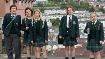 Protagonistas de 'Derry Girls'