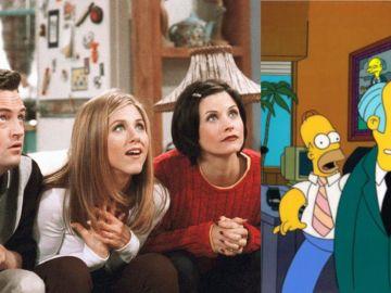 'Friends' y 'Los Simpson'