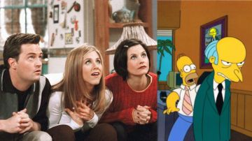 'Friends' y 'Los Simpson'