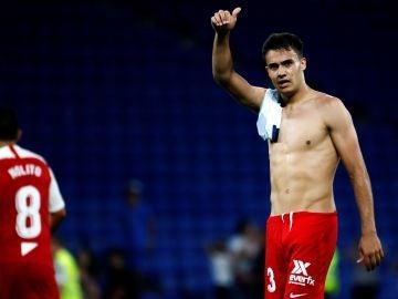 Reguilón, tras el partido contra el Espanyol