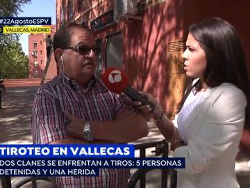 Tiroteo en Vallecas: dos clanes se enfrentan, acaban 5 personas detenidas y una herida
