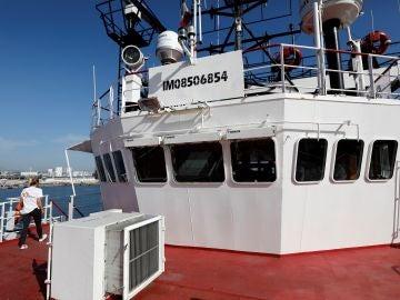El barco 'Ocean Viking'