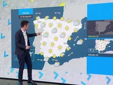 Subida muy marcada de las temperaturas en el norte de la Península y muy veraniegas en el resto del país