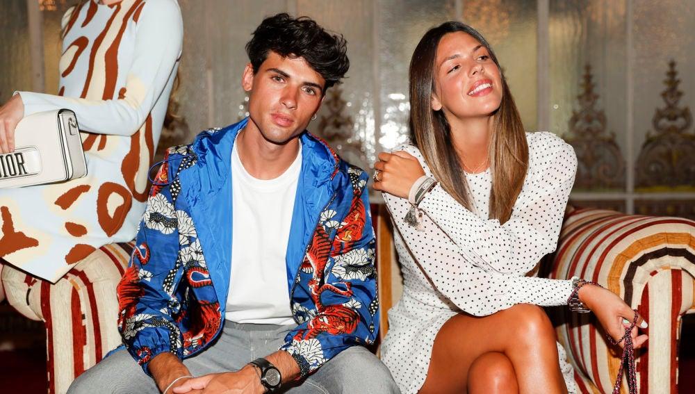 Laura Matamoros y Daniel Illescas