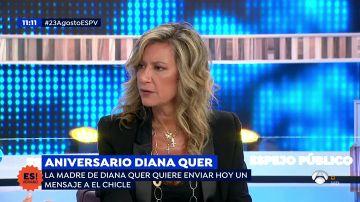 Diana López Pinel, madre de Diana Quer