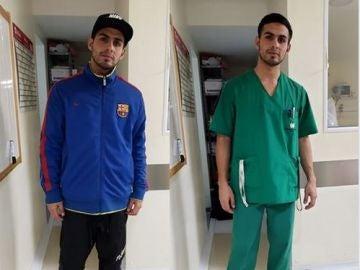 Joven discriminado por vestir la equipación del Barça