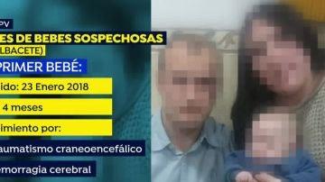 Padres detenidos por la muerte de sus hijos