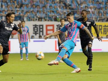 Fernando Torres en su último partido como profesional