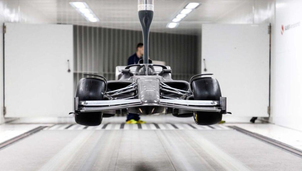 Imágenes inéditas de la nueva Fórmula 1