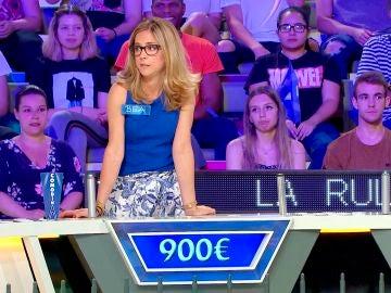 Una concursante comienza 'La ruleta de la suerte' con la mejor de las suertes