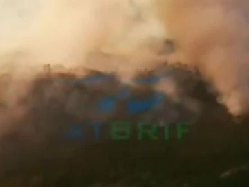 Incendio en León