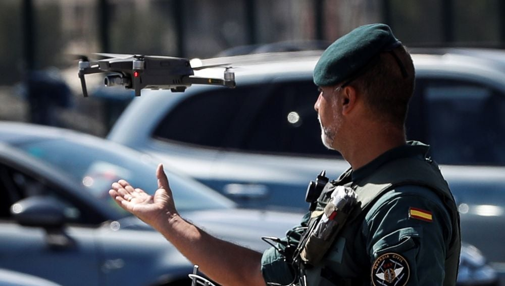 Despliegue policial por la cumbre del G7