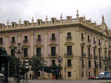 Edificio de la Fiscalía provincial de Valencia.