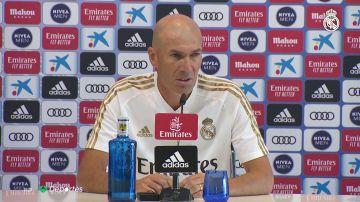"""Zidane: """"No contemplo la marcha de Keylor Navas, es un jugador importante"""""""