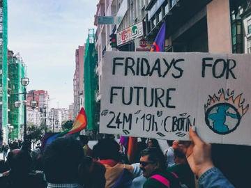 Grupo Fridays For Future de Cantabria en una fotografía de archivo