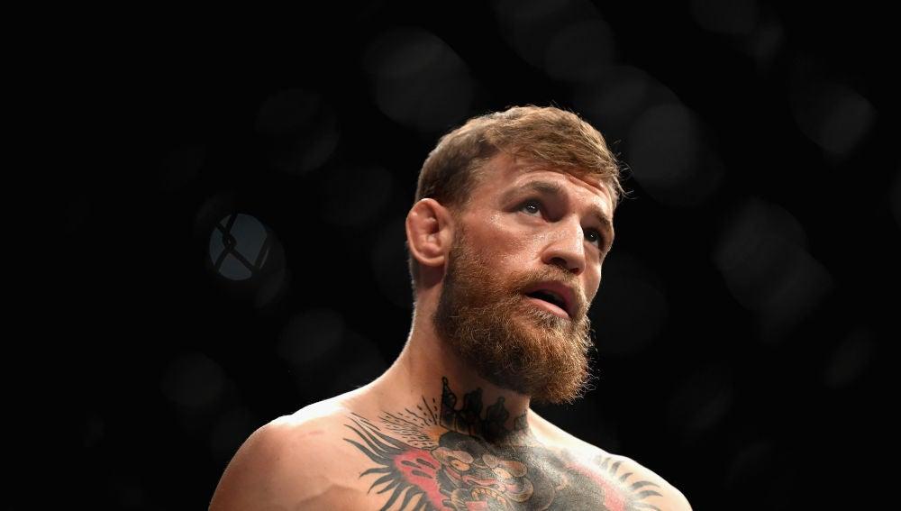 Conor McGregor en un combate