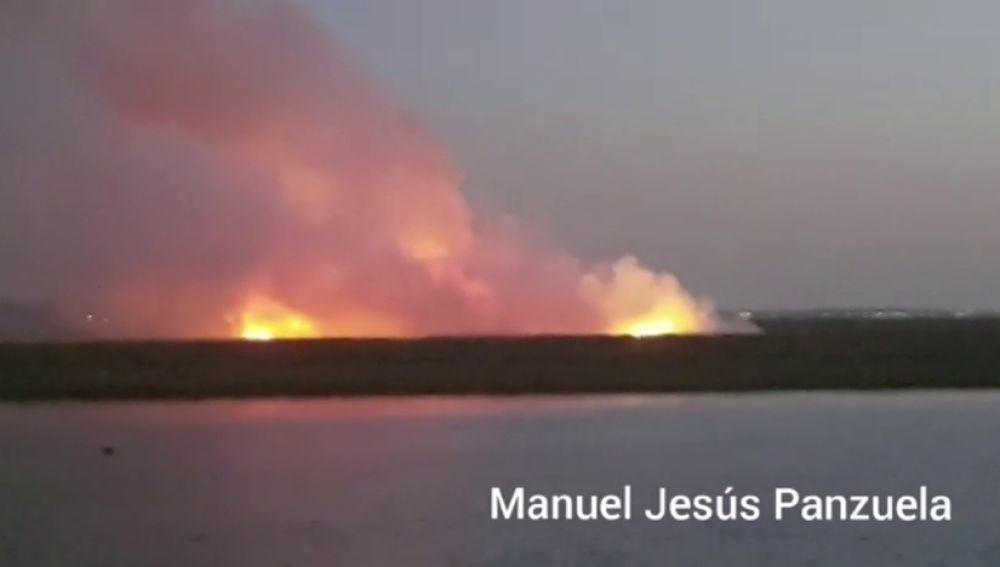 Una avioneta ultraligera se estrella en Huelva