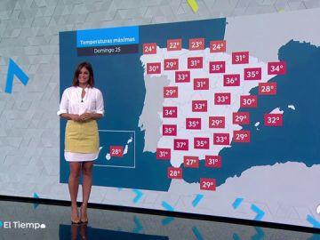 Tiempo estable en España para el fin de semana, con temperaturas en ascenso en Canarias