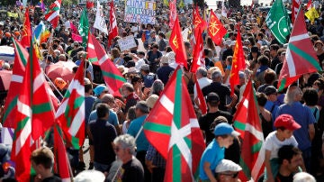 Manifestación contra el G7
