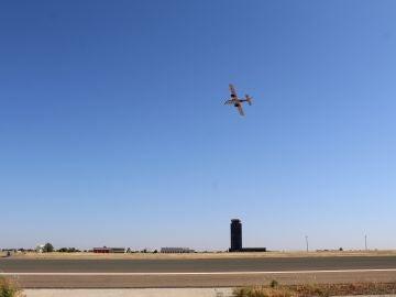 Vuelo de calibración sobre el aeropuerto de Ciudad Real