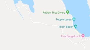 Playa donde ha muerto un turista español