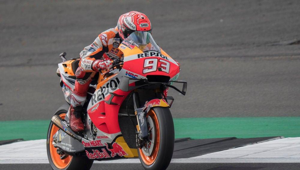 Márquez consigue su cuarta pole consecutiva del año