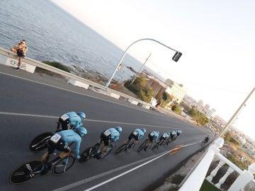 La primera crono por equipos de La Vuelta España 2019