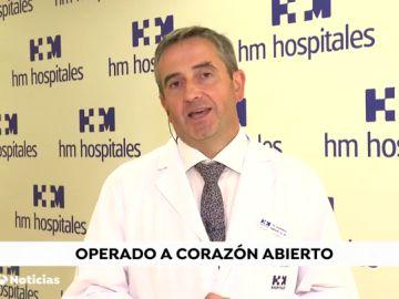 El cardiólogo Eduardo Castellanos
