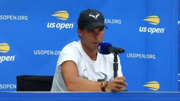 """Rafa Nadal llega al US Open con """"buenas sensaciones"""", a pesar de no estar en Cincinnati"""