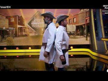 Luis Tosar protagoniza un duelo de enfermeros con Pablo Motos en 'El Hormiguero 3.0'