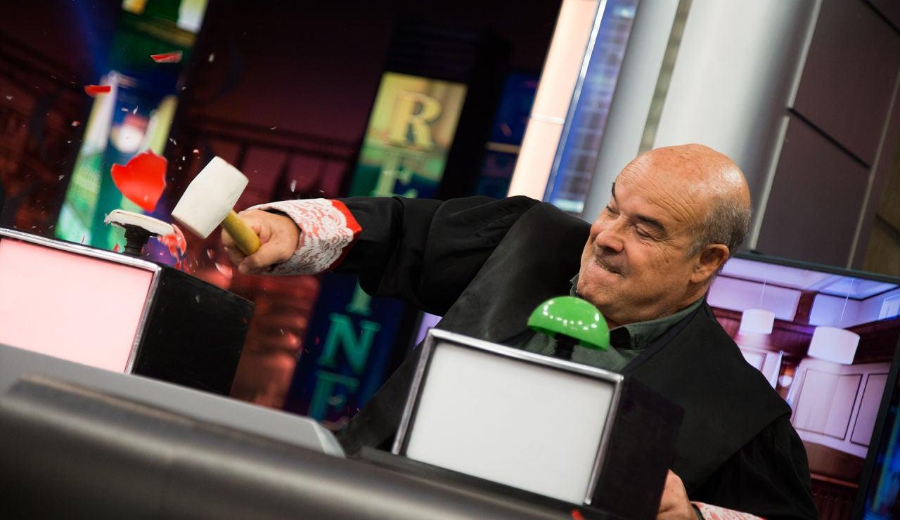Antonio Resines estrena su rompedora sección en la nueva temporada de 'El Hormiguero 3.0'
