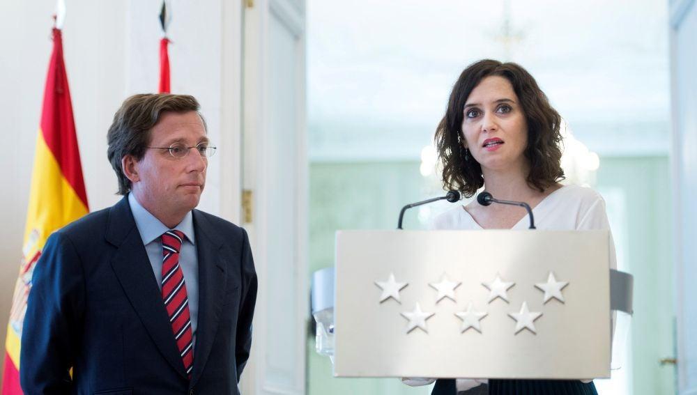 Díaz Ayuso: Nunca hablaré de mi socio de Gobierno más que en positivo