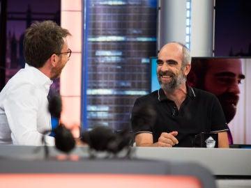 """Luis Tosar define en 'El Hormiguero 3.0' a su personaje en su nueva película 'Quien a hierro mata': """"Es un tío normal en una situación extraordinaria"""""""