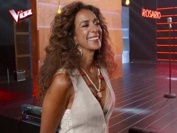 Rosario Flores, la alegría y el arte en su paso por la grabación de la promo de 'La Voz Kids'